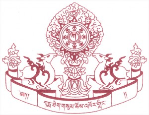 logotipo Karma Theksum Chokhorling