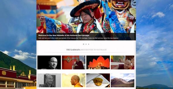 novo site Karmapa