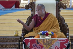 Karmapa ensinamento Kagyu Monlam 2