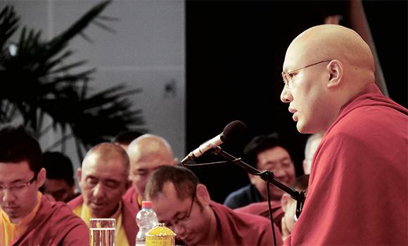 S.S. Karmapa, Suíça, 29/5/2016. Foto http://kagyuoffice.org/