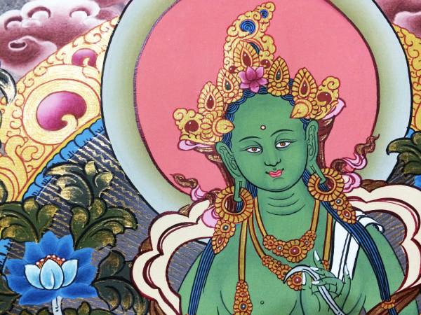 Tara Verde tangkha