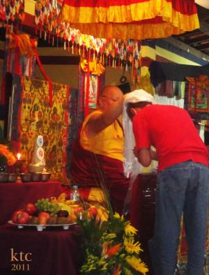 Khenpo Karthar Rinpoche - KTC, 2011